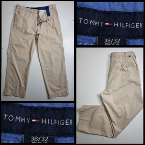 tommy hilfiger men's chino's & khakis pants